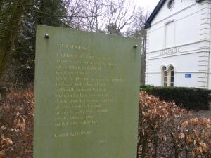 20160315 10.16 Hulshorst gedicht Achterberg rondje veluwe
