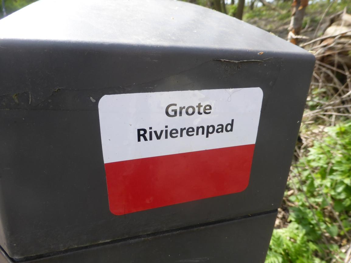 Grote Rivierenpad (01), Hoek van Holland naarMaassluis