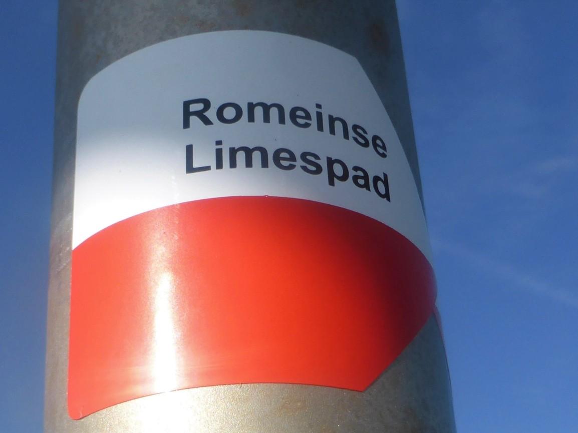 Romeinse Limespad (I), Katwijk aan Zee naar Zoeterwoude-Dorp