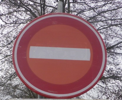 P1120768 verboden in te rijden